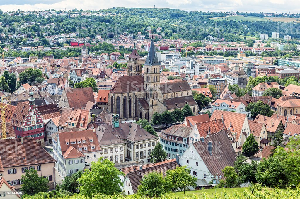 Stuttgart-Esslingen stock photo