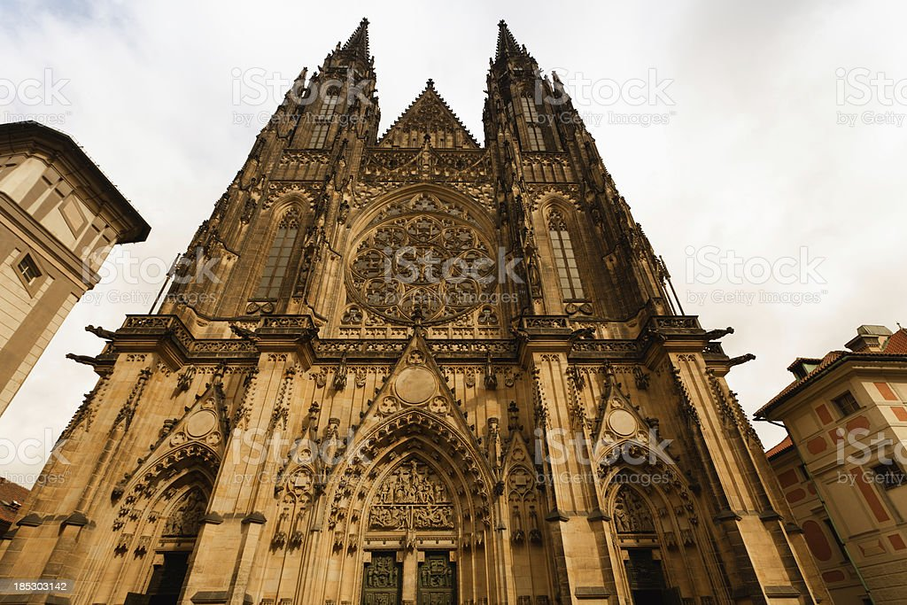 St.Vitus cathedral stock photo