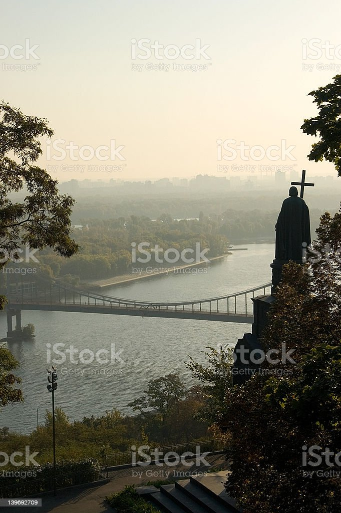 St.Vladimir monument stock photo
