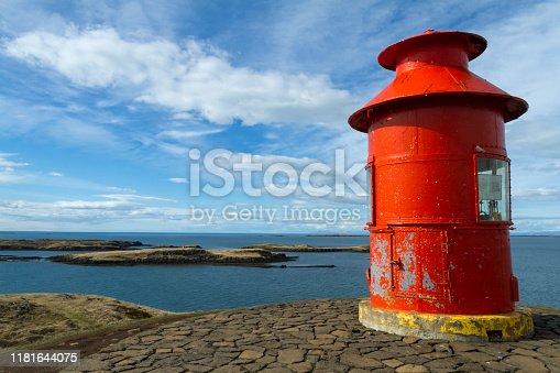 istock Stykkishólmur, Harbor on Iceland. 1181644075