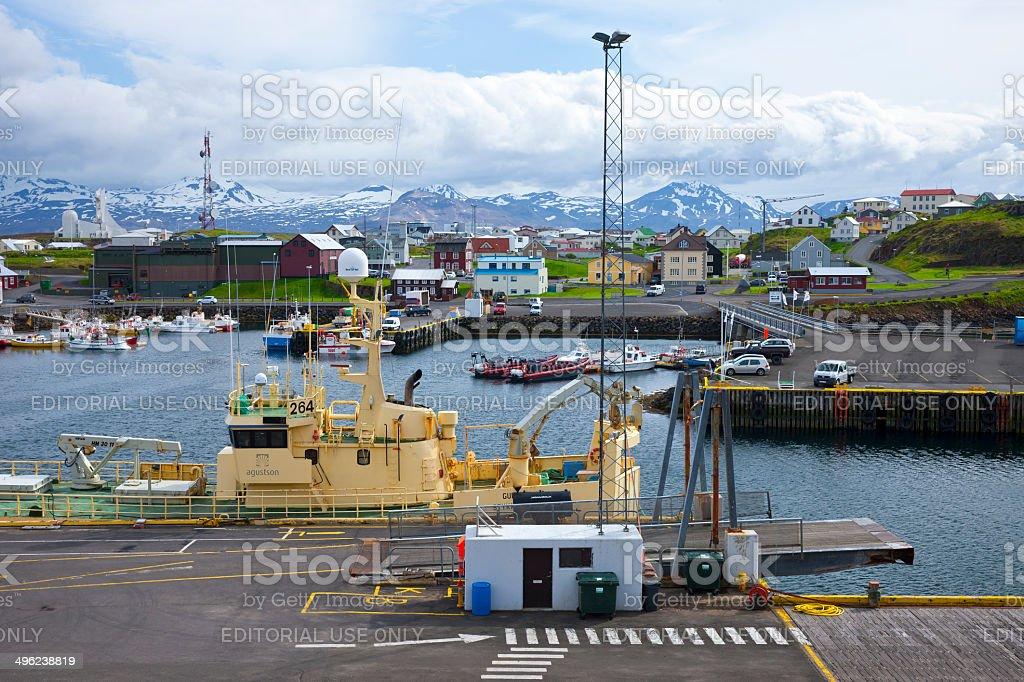 Stykkishólmur, Iceland royalty-free stock photo