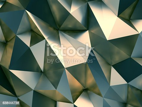 istock Style Abstract Background 3D Rendering 638444738