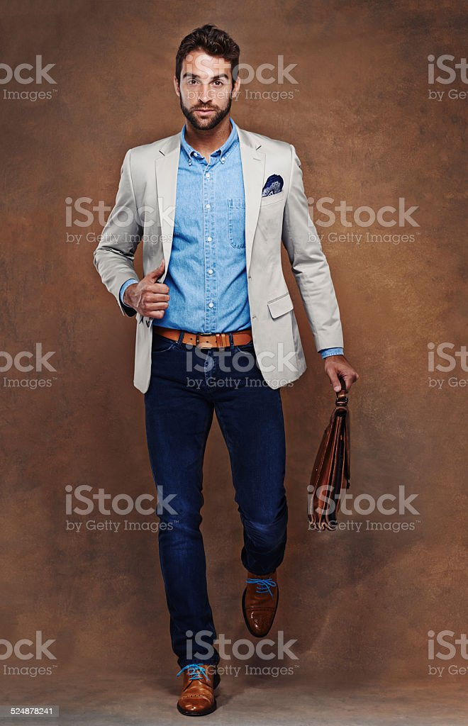 Style confidence stock photo
