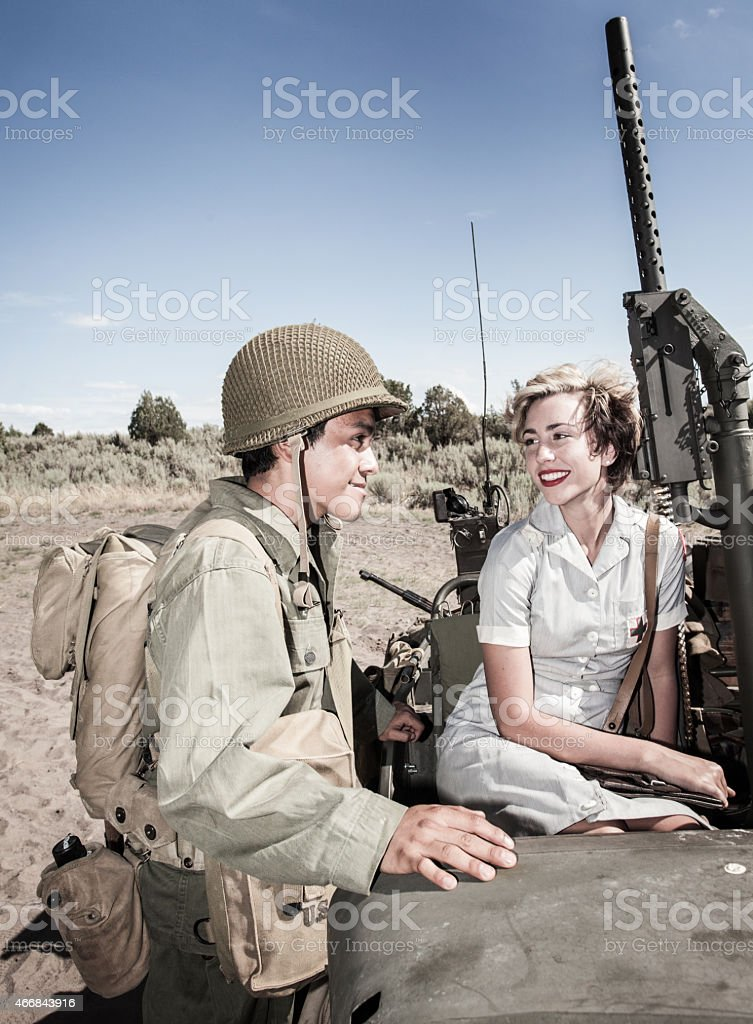 WWII Style Image stock photo