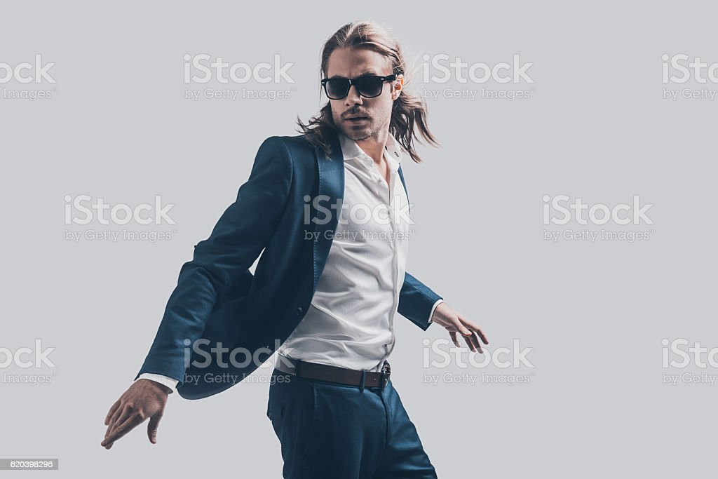 Style in motion. stock photo