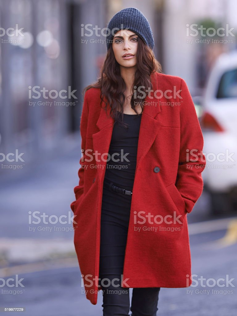 Style in the city stock photo