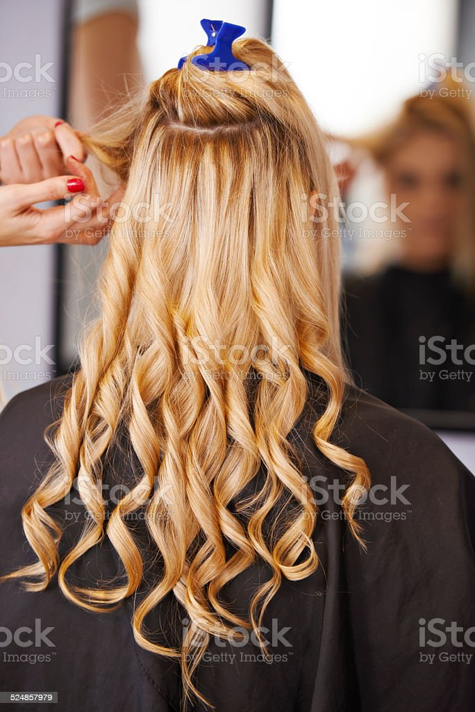 Style in the making... stock photo