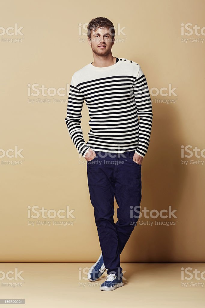 Style is my game! royalty-free stock photo