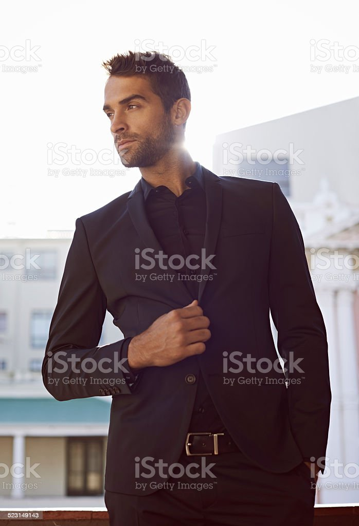 Style is primarily a matter of instinct stock photo