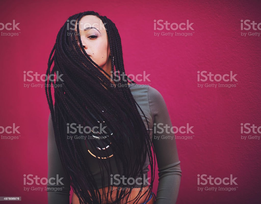 Style is the art of being yourself stock photo