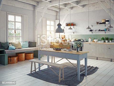istock style kitchen interior. 922669840