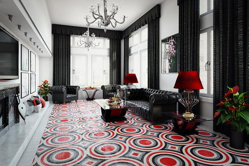 UK Style Luxurious Home Interior