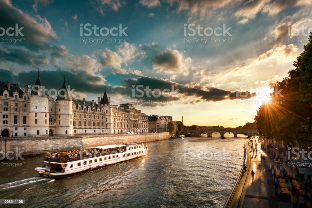 Style of life in Paris stock photo