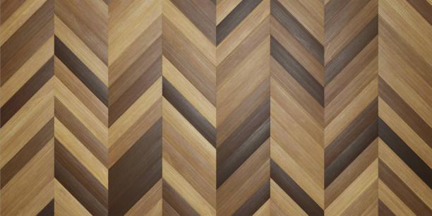 Style solid wood herringbone texture background stock photo