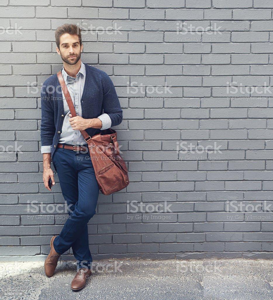 Style qui correspond à son ambition - Photo de A la mode libre de droits