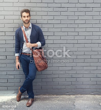 istock Style that matches his ambition 525041018