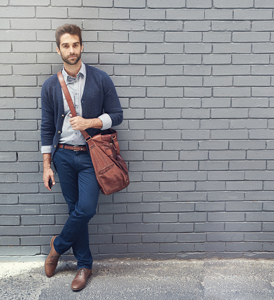 Business casual fashion stock photos