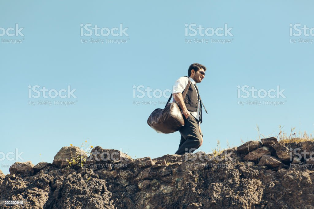 Style that matches his ambition royalty-free stock photo