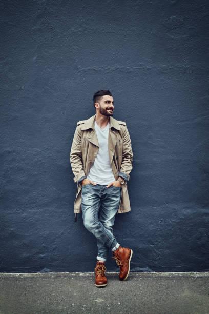 estilo que é quente na rua - moda masculina - fotografias e filmes do acervo