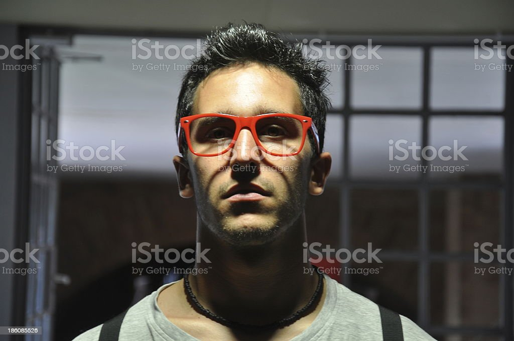 Style young man stock photo