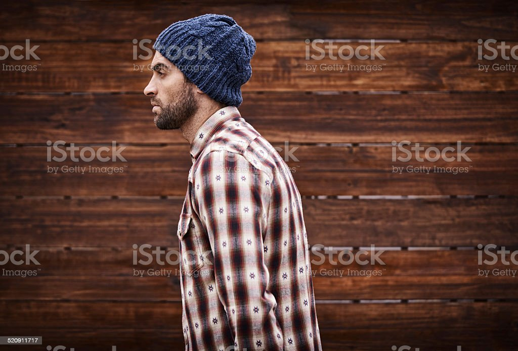Styled for the street royalty-free stock photo