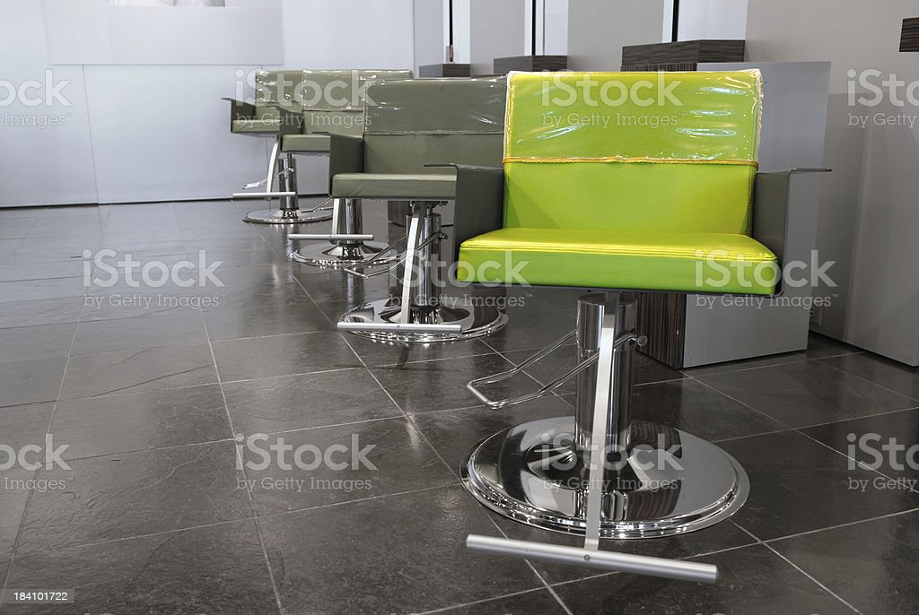 Styling Chairs royalty-free stock photo