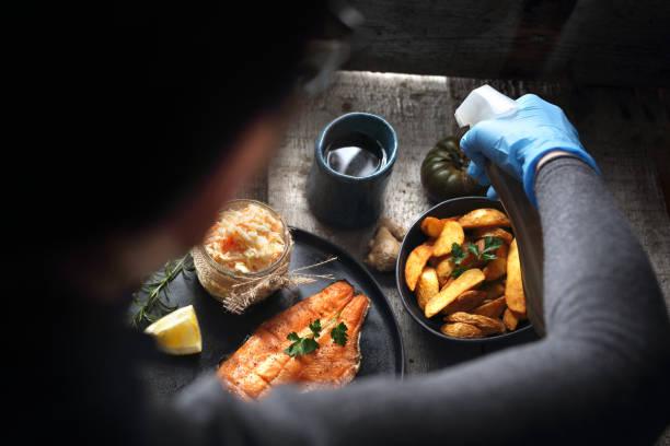 styling gerichte. - küche deko blog stock-fotos und bilder