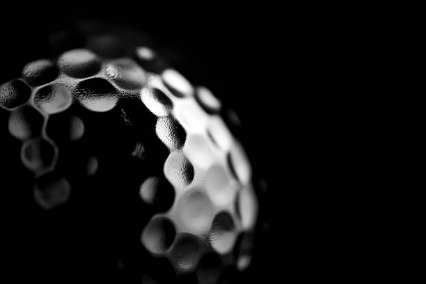 Stylised Golf Ball stock photo