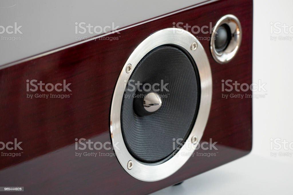 Haut-parleur maison élégant airplay bluetooth studio - Photo de Affaires Finance et Industrie libre de droits