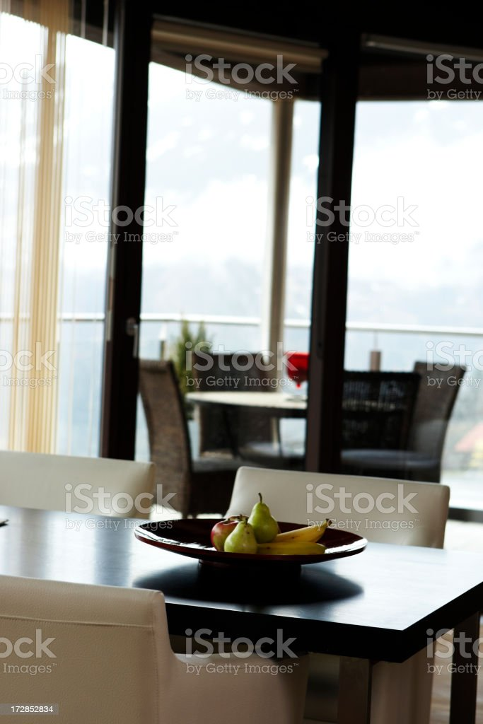 stylish apartment interior royalty-free stock photo