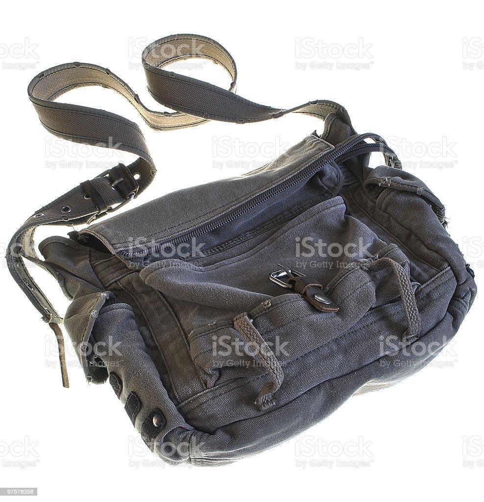 Stylish bag royalty-free stock photo