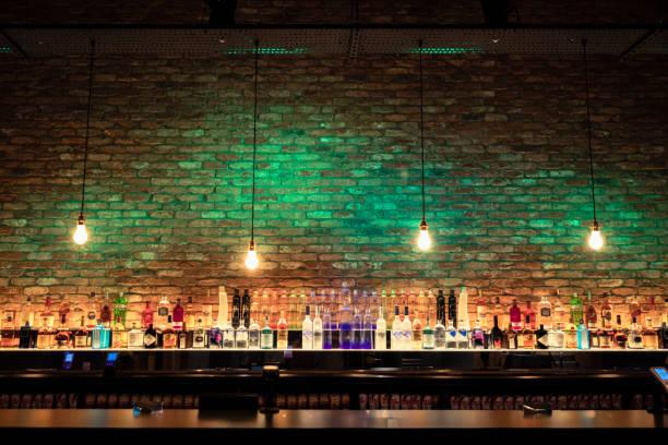 Stylish Bar stock photo