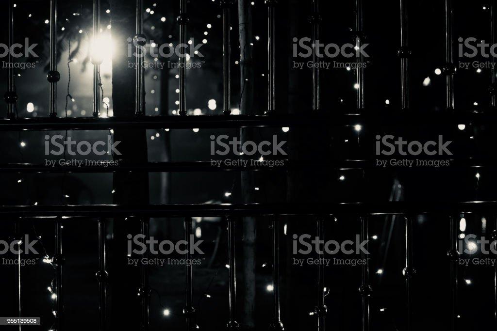 Stylish black and white metallic background photo stock photo