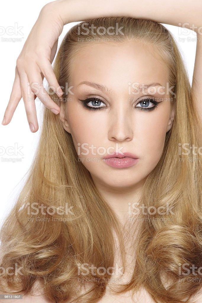 Stylish blonde royalty-free stock photo
