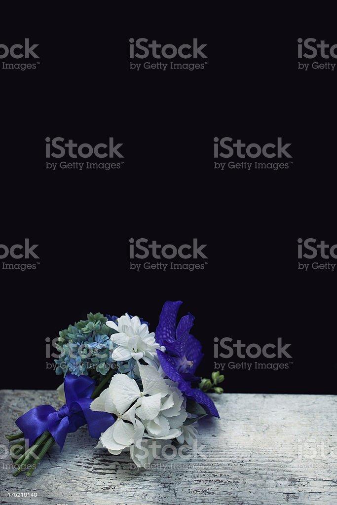 Stylish bouquet royalty-free stock photo
