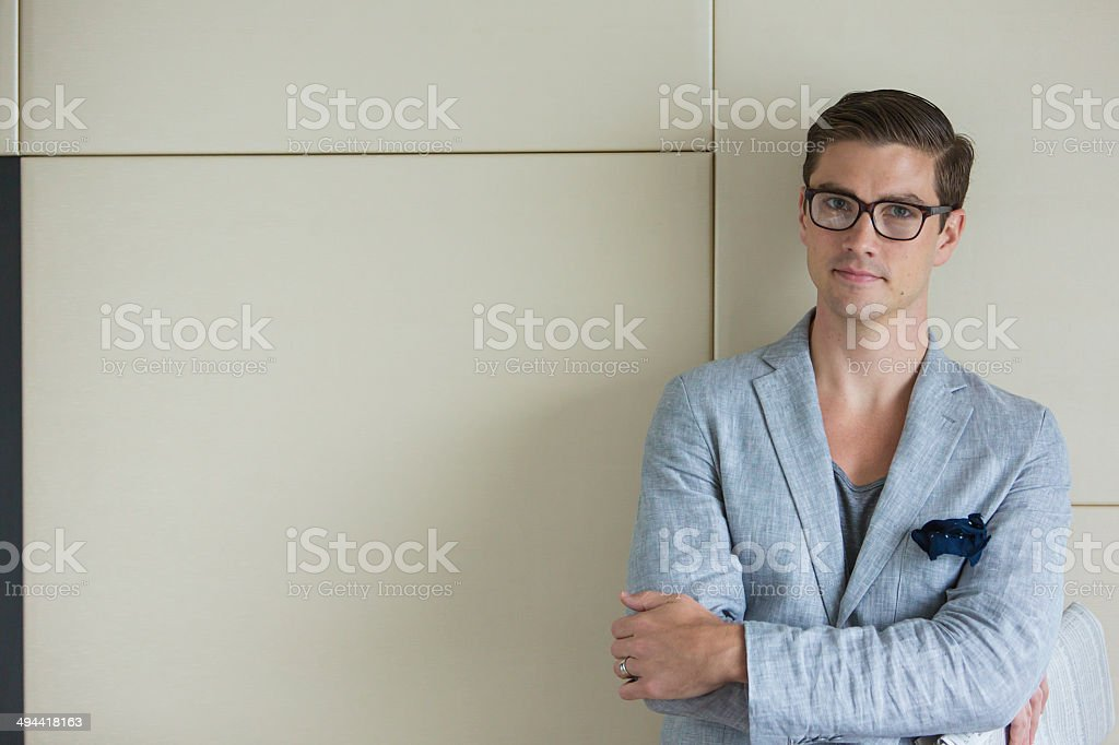 Stylish Businessman royalty-free stock photo