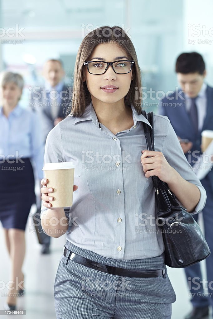 Stylish businesswoman royalty-free stock photo