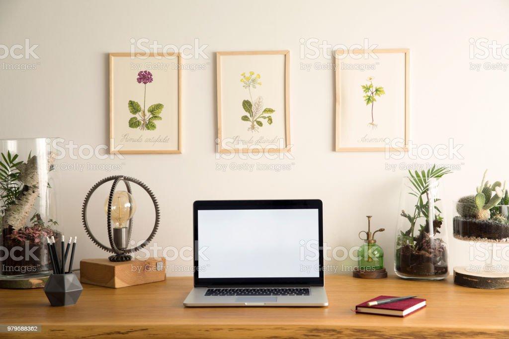 Inspirational home workplace interior
