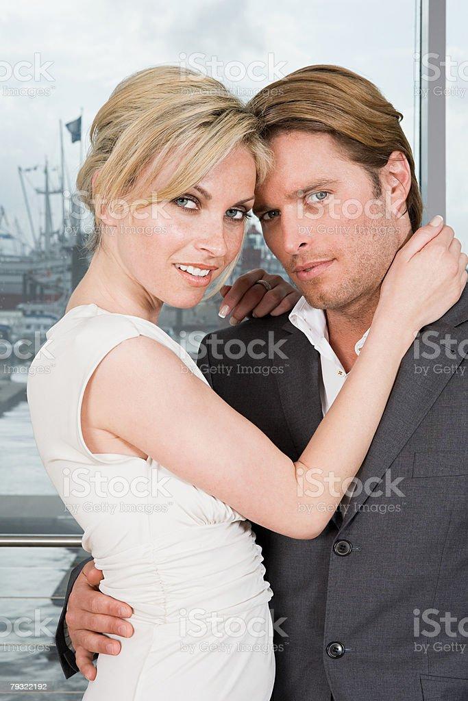 Stylish couple 免版稅 stock photo