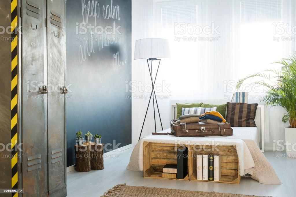Stilvolle Dekoration Im Schlafzimmer Stockfoto und mehr ...
