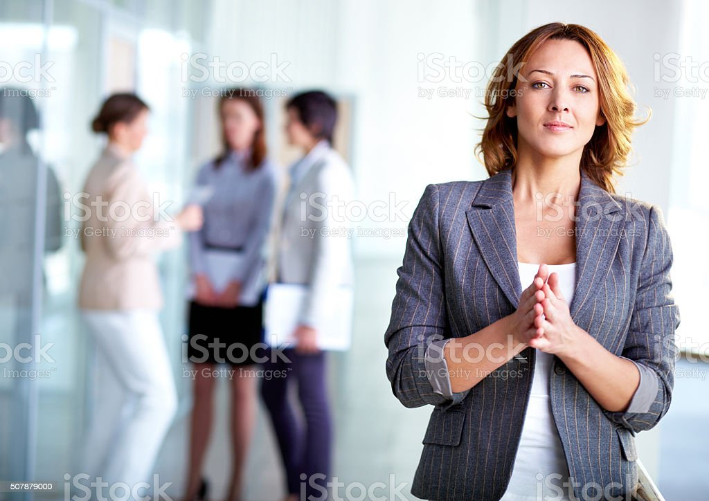 Elegante empregador - foto de acervo