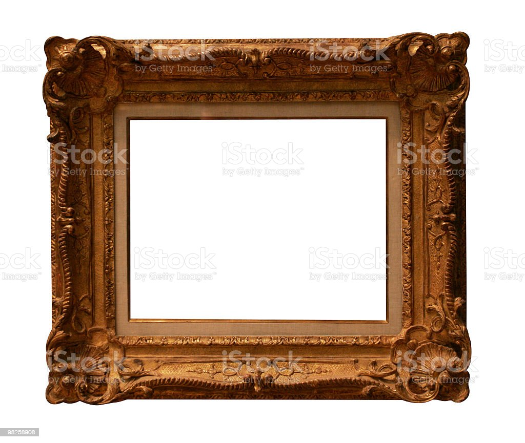 Stylish frame to use in your design royalty-free stock photo