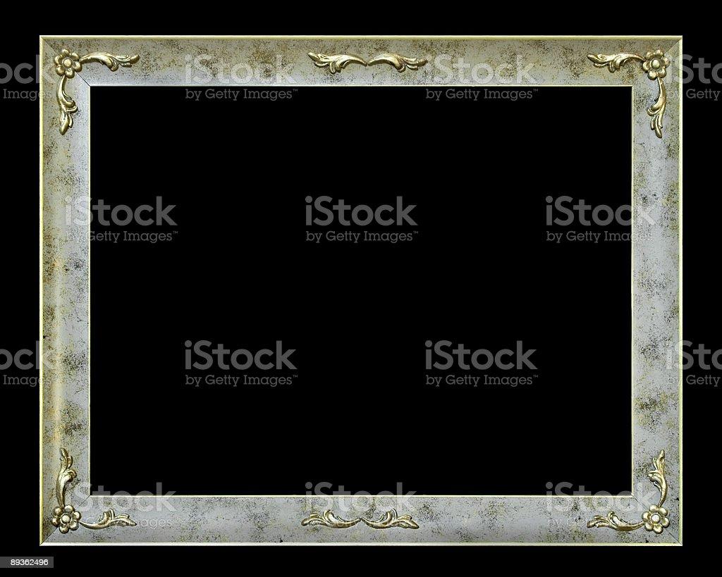 Stylish frame with flowers royalty-free stock photo
