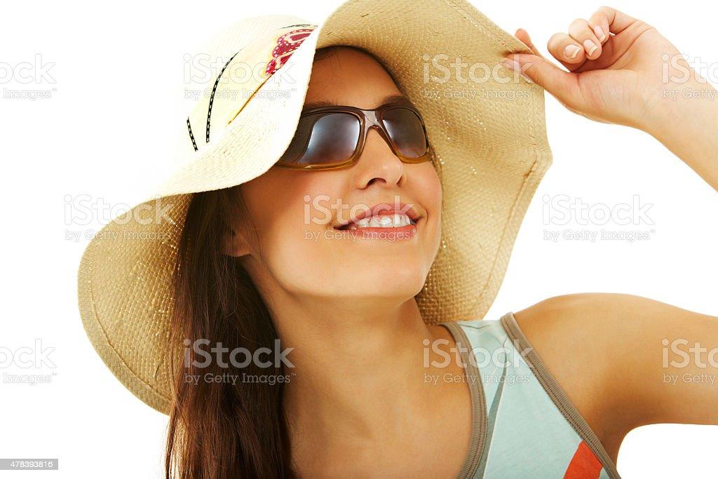 Stilvolle Mädchen Lizenzfreies stock-foto