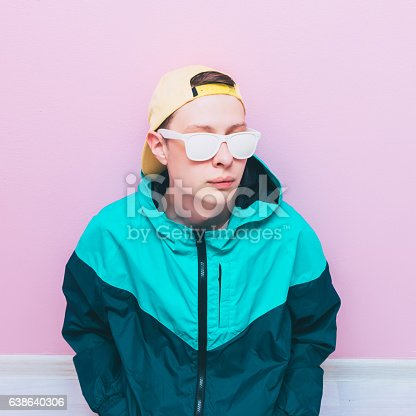 istock stylish guy in trendy pose 638640306