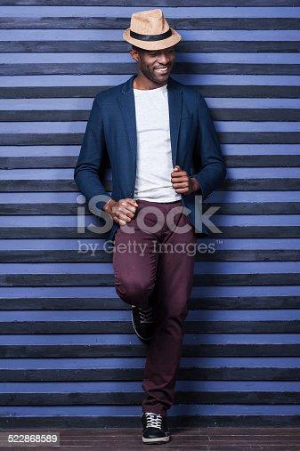 istock Stylish handsome. 522868589