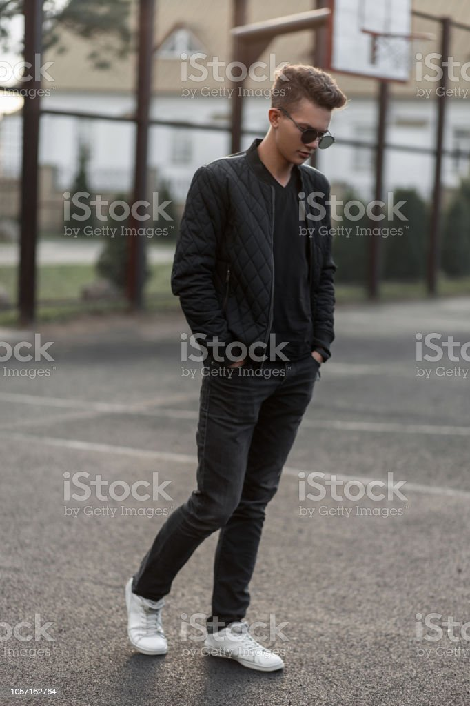 Libre Photo Élégant En De Hipster Noirs Droit Homme wPTiZOXuk
