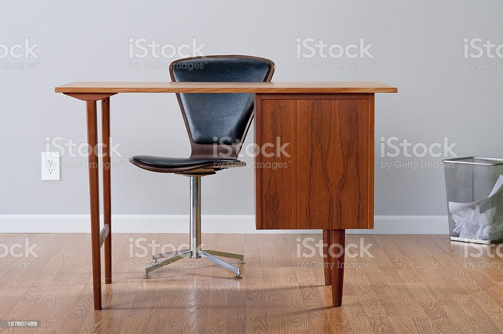 Stylish Home Office royalty-free stock photo