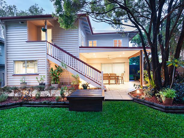 Stylish home stock photo