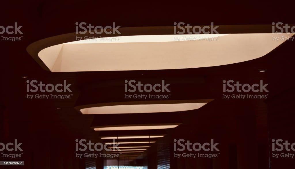 Stylish interior lights isolated unique photo stock photo